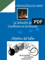 La Solución de Conflictos en la Escuela  1 octubre 2013