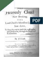 Jane Lead - The Heavenly Cloud Now Breaking