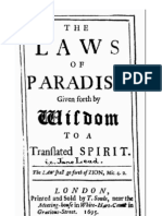 Jane Lead - The Laws of Paradise