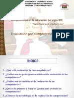 Exposicion de Comision de Evalucion Educativa