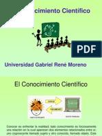 Clase 1.3 El Conocimiento y el Método Científico.ppt