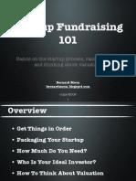 Startup Fundraising 101