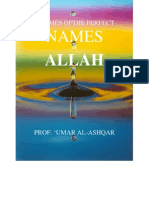 3 of Allah's Perfect Names.