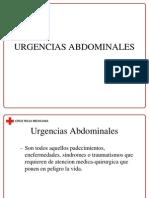 urgencias abdominales