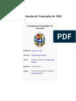 constitucion año 1961