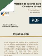 Formación de Tutores para Ofimática Virtual