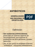 antibiticos generalidades