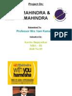 Mahindra and Mahindra