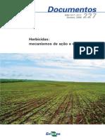 Herbicidas Mecanismos de Acao e Uso