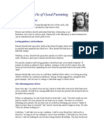 Do's and Dont's of Good Parenting, By Yogananda