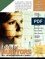 Excel for Auditor