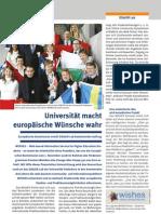 2009-06 PUZ - Universität macht europäische Wünsche wahr