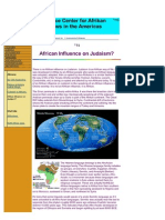 African Influence on Judaism