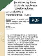 Abordajes Neurocognitivos en El Estudio de La Pobreza