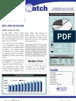 Toronto Real Estate Board Market Watch June 2009