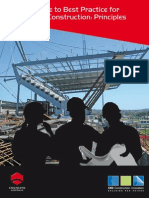 Guide to Best Practice for Safer Construction Principles Australia
