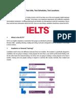 IELTS 101 - IELTS Test Details, Test Centers, Test Schedules Philippines