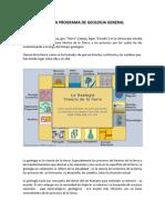 Materia Programa de Geologia General (2)