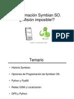 Programacion Symbian SO