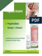 Programas Nutritivos de Herbalife