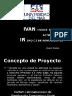 VAn Indice Del Valor Actual Neto