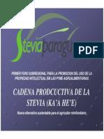 Cadena Productiva Stevia Versionreduc