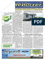 The Village Reporter - October 2nd, 2013