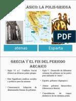 Atenas y Esparta Organizacion Politica y Social