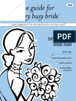 the guide for every busy bride - charleston, sc; summer 2009