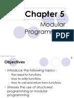 Chapter 5 Modular Programming