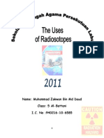 Folio Fizik the Uses of Radioisotopes