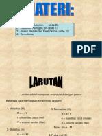 Stokhiometri Lar, pH, Redoks Dan Termokimia