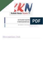 MateriPembekalan Ttg KKN by-Dr.hidayatTeguhW.mpd