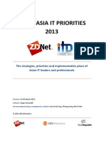 ZDNet ITPriorities2013 Asia FinalReport