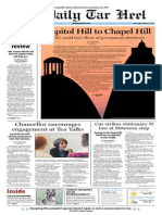 The Daily Tar Heel for October 2, 2013