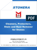 Stain, Rust Removers for Marble, Granite, Stone
