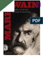 Twain, Mark - Meine Geheime Autobiographie