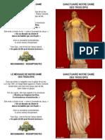 Neuvaine Notre Dame Des Trois-Epis