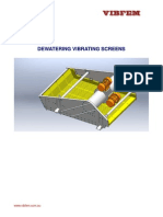 Vibrating Screens - Dewatering