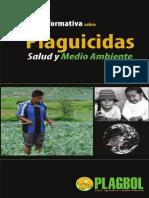 Cartilla Informativa Plaguicidas Salud y Medio Ambiente