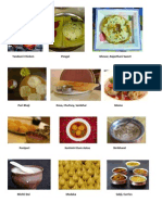 Foods of India - name and pictures