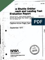 NASA Space Shuttle Enterprise Approach & Landing Tests - 1977