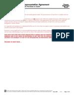 Buyer Representation Agreement