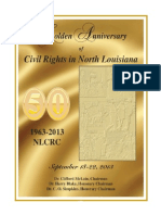 Golden Anniversary Celebration of Civil Rights Activities in North Louisiana