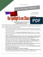 Class of 2013 Newsletter (1)