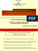 programme-emergence au Maroc