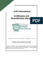 CVS Certification Manual