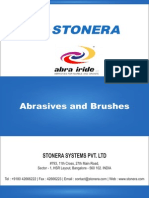 Abrasives, Brushes for Marble, Granite, Stone
