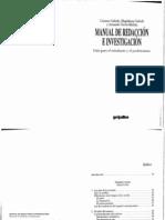 Galindo Carmen et. al. Manual de redacción e investigación