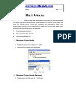 Membuat Program Multi Aplikasi Dalam Vb
